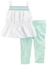Carter's Tank & Pants Baby Girl's 2 Piece Set, 3 Months, 121D541M - $16.00