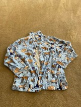 Pajamagram Dog Tired Size Lg Pajamas  Top Featuring Multiple Breeds - $20.69