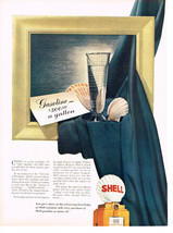 Vintage 1942 Magazine Ad Shell Motor Oil Advancing Knowledge With Each Purchase - $5.93