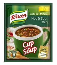Knorr Veg Hot and Sour Cup-A-Soup, 11g (Pack of 10) - $10.99
