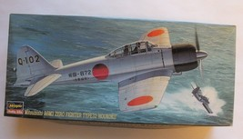 Hasegawa 1/72 Mitsubishi A6M3 Type 32 Japanese WWII Navy Carrier Fighter... - $19.88