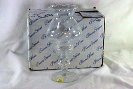 Princess House 2016 Crystal Heritage 2 Piece Candle Lamp In Box - $17.32
