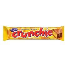 10x CRUNCHIE Chocolate Bars Full Size 41g Each CADBURY Canada- FRESH & D... - $21.89