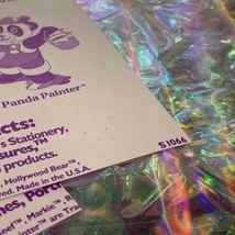 Lisa Frank Sticker Sheet Set Bottom 1/2 Of S1066 Complete Giant Mods image 4
