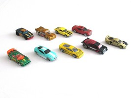 Mixed Lot of 9 Hot Wheels Maisto Sport Racing Car 1982-2008 Jaguar Ferrari Camer - $18.99