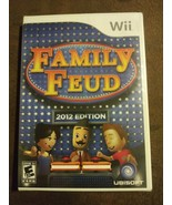 Family Feud -- 2012 Edition (Nintendo Wii, 2011) Rated E 10+ Ubisoft NIP... - $47.51