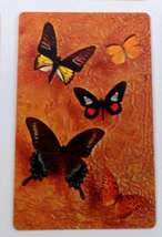 Set of 6 Butterfly Playing Cards for crafting collage repurpose upcycle trading  image 4
