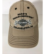 HARLEY-DAVIDSON hat cap adjustable motorcycles USA BARB'S PHILADELPHIA P... - $19.80
