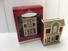 Hallmark Keepsake Ornament 1998 Grocery Store Nostalgic Houses and Shops 22478 - $9.64