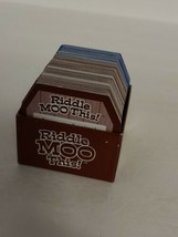 Riddle Moo This - A Silly Riddle Word Game Replacement Parts - Game Car... - $7.50