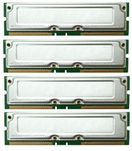 DELL DIMENSION 8100 2GB 4X512MB PC 800-45 RAMBUS MEMORY TESTED - $40.84