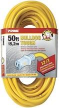 Prime Wire & Cable LT511830 50-Foot 12/3 SJTOW Bulldog Tough Extension C... - $60.31