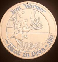 """1989 Lyn Ulick Bun Warmer Preowned  6 """" Diameter Pig Motif - $15.48"""