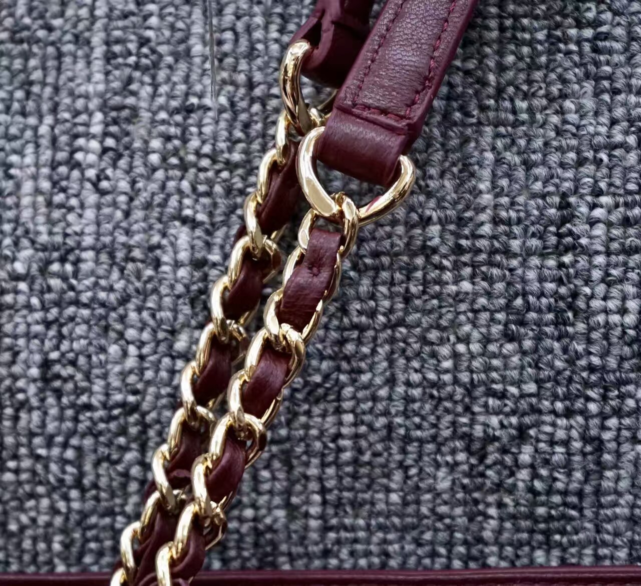 Authentic Tory Burch Fleming Open Shoulder Bag