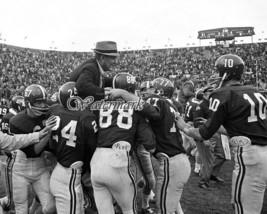 1966 NCAA Alabama Crimson Tide Paul Bear Bryant Unbeaten Season 8 X 10 Photo Pic - $5.99