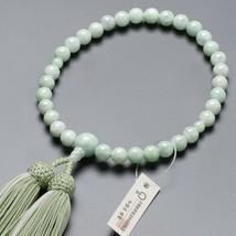 Buddhist Rosary Mala Juzu Prayer beads Japan Kyoto Burma Jade handcraft - $280.15