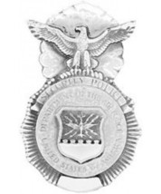 """USAF Security Police MP 1"""" and 1-3/4""""  Badge Pin Set - $19.79"""