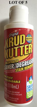 Lot of 5 New Krud Kutter Concentrated Cleaner/Degreaser Stain Removers 4 oz - $11.64