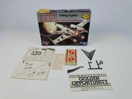 1983 Star Wars ROTJ MPC Model X-Wing Fighter Empty Box Manual Stand Deca... - $23.36