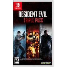 Resident Evil Triple Pack Nintendo Switch, Nintendo, 013388410132 - $61.10