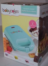 Babycakes Nonstick Waffle Stick Maker Mini Makes 4 Sticks New - ₨1,933.29 INR