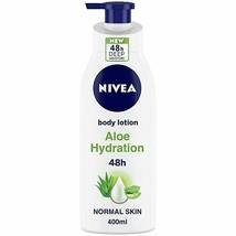 NIVEA Body Lotion, Aloe Hydration, with Aloe Vera, for Men & Women, 400 ... - $15.14+