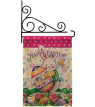 Easter Treats Burlap - Impressions Decorative Metal Fansy Wall Bracket Garden Fl - $33.97