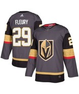 Men's Vegas Golden Knights #29 Marc-Andre Fleury Grey Jersey Hockey Stitched NHL - $54.99