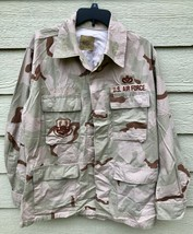 GENUINE USGI COAT DESERT CAMOUFLAGE PATTERN COMBAT JACKET - MEDIUM REGULAR. - $9.90