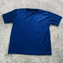 Nike Cross Fit Workout Tee Shirt Blue Mens Size XL - $19.79