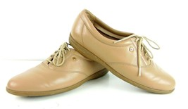 Easy Spirit Anti Gravity Brown Leather Lace Up Walking Shoes Womens 7 - $19.79