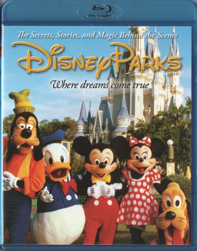 Disney Parks: The Secrets, Stories, Magic Behind the Scenes (Blu-ray/DVD, 2010)