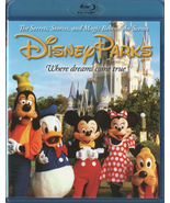 Disney Parks: The Secrets, Stories, Magic Behind the Scenes (Blu-ray/DVD... - $12.95