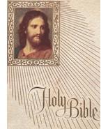 """Holy Bible Catholic Fireside Family Edition NAB Vintage 1970 Big 11 3/4"""" - $24.75"""