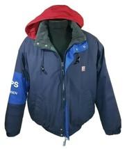 Vintage Ralph Lauren Jacket Chaps Medium Coat Polo Sport Bear Stadium RL... - $67.00