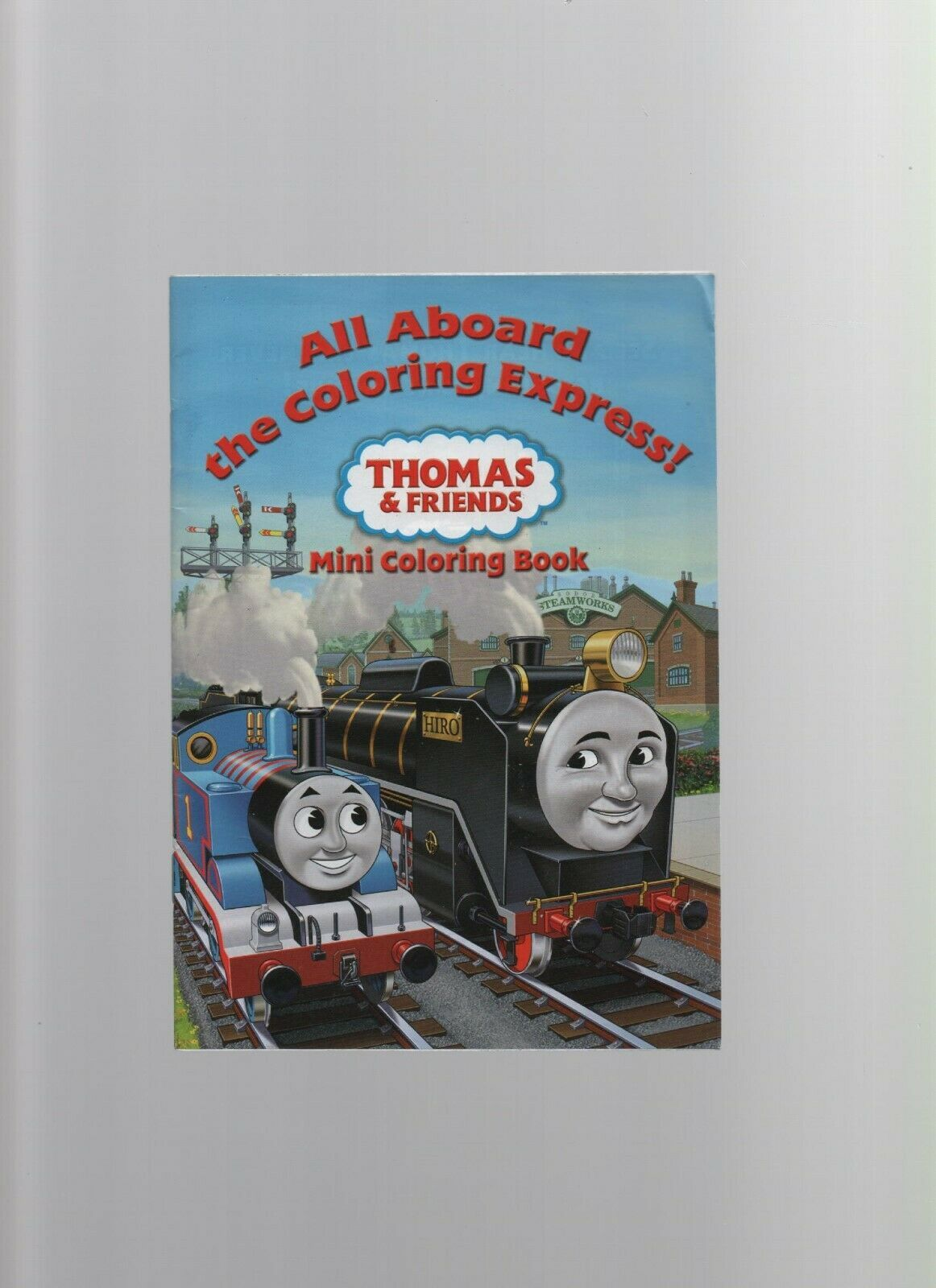 Primary image for Thomas & Friends Mini-Coloring Book - Coloring Express! - SC - 2009 - HIT Enter.