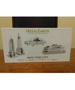 Metal Earth - New York City (2013) DIY steel sheets to four 3D models  - $38.61