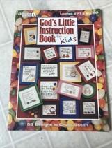 Leisure Arts Leaflet #2773 God's little instruction book for kids 58 Designs - $9.49