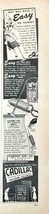 1949 Cadillac Vacuum Cleaners Print Ad Why Not Make It Easy In Yourself - $9.89