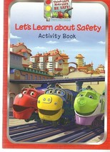 Let's Learn About Safety Activity Book - A Traffic Safety Program - Amtr... - $1.35