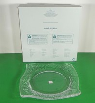 Partylite CLARITY Glass 3-Wick Candle Tray Holder P9209 in Original Box - $24.70