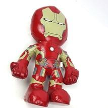 "Marvel Iron Man Plush Doll 14"" Vinyl Standing Toy Just Play  - $17.82"