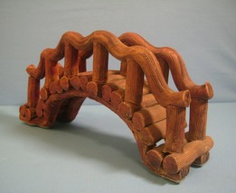 Ceramic bridge for aquarium decoration new u - $11.40