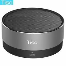 Tiso T10 Bluetooth speaker metal mini portable wireless 10-15 hours play... - $23.09 CAD