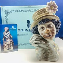 Lladro Nao figurine clown circus carnival Spain box 5542 Melancholy Head... - $445.50
