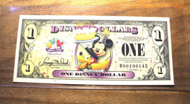 "2009 DISNEY DOLLAR - MICKEY SERIES ""D"" - Celebrate - Mint Condition - $16.69"