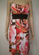 Wrapper Women's Girl's Dress Size XL Sleeveless Tie Up Multi Color #B1 - $17.99
