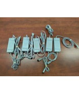 Lot of 5 OEM Nintendo Wii Power Supply AC Adapter Cords RVL-002 - Tested... - $24.74