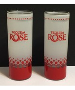 Set of 2 Tequila Rose Tall Shot Glasses - $10.88