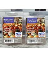 2pc Better Homes & Gardens Scented Wax Cubes FARMHOUSE PUMPKIN PATCH 2.5... - $9.82